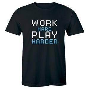 Work Hard Play Harder Beautiful Players T-shirt